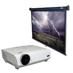 Picture for category Projectors and Screens