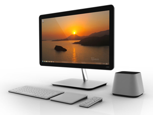 Picture of Sony Desktop Computer