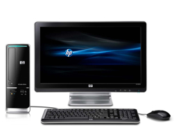 Picture of HP Desktop Computer