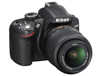 Picture of Nikon D320 Black