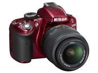 Picture of Nikon D320 Red